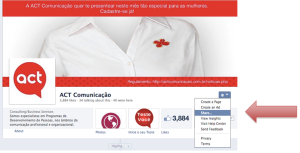 Como convidar os seus amigos para curtir a página da empresa no Facebook