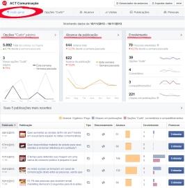 Visão Geral Facebook ACT Novo
